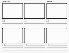 Storyboard template - great for scaffolding students in narrative writing Video Storyboard, Storyboard Examples, Storyboard Template, Animation Storyboard, Narrative Writing, Opinion Writing, Narrativa Digital, Wattpad Book Covers, Film D'animation