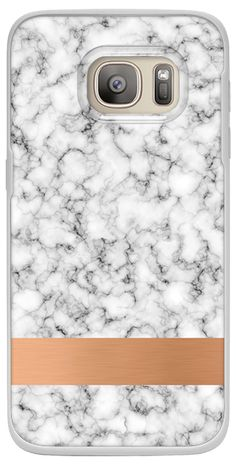 d9812bbfeac69 Casetify Galaxy S7 Classic Snap Case - Marble and copper by Marta Olga  Klara  Casetify