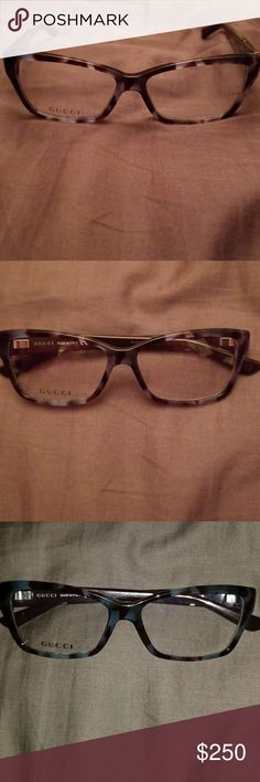 Gucci optical frames gg3559 New Gucci frames Tort blue and brown  53/14/135 Temple size 135 Gucci Accessories Glasses