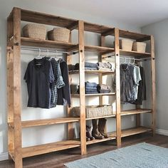 Adore this!  Would love to adopt some simplicity in my wardrobe & closet