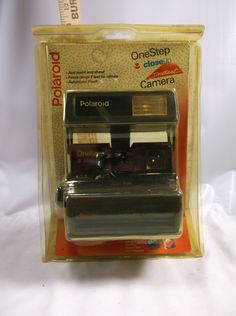 Vintage Polaroid One Step Close Up Camera Clean & Nice New Old Stock .epsteam