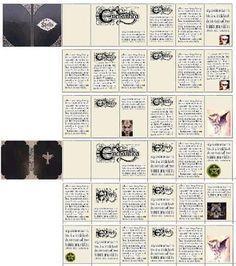 Nuestras MiniaturaS - ImprimibleS: book of spells
