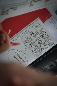 https://flic.kr/s/aHsjVftHwi | 2014.03.20 SketchNote Lab Cubo Rosso Forema