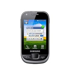 Samsung Champ 3.5G S3770 is a quad band GSM phone and features 2.80 inch TFT display. The 0.03 GB internal memory is expandable to up to 16 GB with SD cards. The 2 MP camera takes pictures with amazing clarity. The camera features include digital zoom, smile detection, panorama scenes and self timer. Tune into your favorite FM channel and record songs off the air. The Dolphin 1.5 high speed browser allows you surf the net. The phone supports Bluetooth, Wi-Fi and USB 2.0 for connectivity.