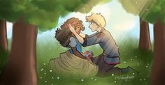 Winter and Jacin! by Mariana Doodles