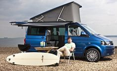 JAMES MARTIN: Essential kit for both beach boys and festival-goers - but is the VW California camper worth all that money?