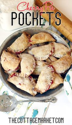 Quick and Easy Cherry Pie Pockets - The Cottage Market