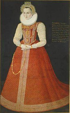Princess Sophia of Sweden, also Sofia Gustavsdotter Vasa (29 October 1547 – 17 March 1611), was a Swedish princess, daughter of King Gustav Vasa of Sweden and Margareta Leijonhufvud. Duchess of Saxe-Lauenburg Renaissance Fashion, Princess Sofia, 1600-luku, Renesanssi, Historia, Ruotsi
