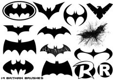 14 Hi-Def Batman Universe Themed Brushes by Nick004.deviantart.com on @deviantART