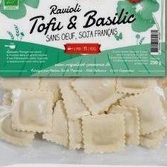 Saveur, Ravioli, Organic Recipes, Tofu, France, Basil, Eating Clean, French, Organic Dinner Recipes