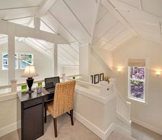 Kvale Hytte Cottage at Conover Commons Pocket Community...love this staircase 0018