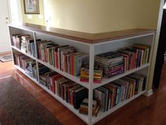 Storage for my cookbook collection.