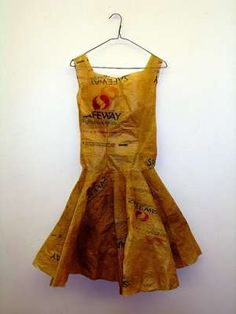 Creative but Weird Dresses made out of Waste and other Alternates (16)