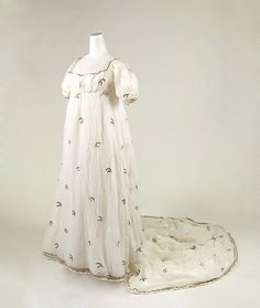 Dress ca. 1800-1804 | probably French | The Met