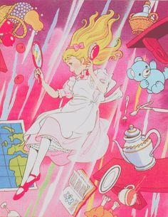 .pop Alice down the rabbit hole