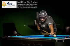 2nd Place Billy Fowler Viking Cues Q City 9 Ball Tour 2nd Annual Turkey Bowl Results