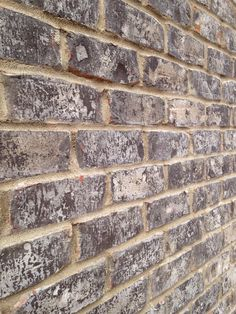 Everest gray brick Anti- buff mortar Grey Brick, Brick And Stone, Luxury House Plans, Luxury Houses, Mexican Patio, Exterior Homes, Brick Colors, House Siding, Pinterest Projects