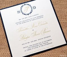 Black and Gold Wedding Invitations - Wedding Suite with Belly Band and Pocket Fold, Black, Gold, Black and Gold Wedding Invitation. $4.99, via Etsy.