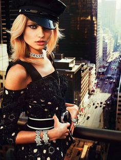 Magdalena Frackowiak   Vogue Paris February 2013