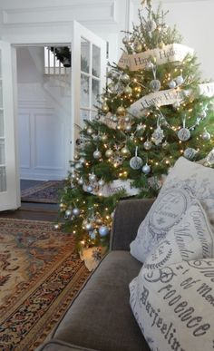 pottery barn replica tree!