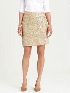 Dayna sequin skirt $98 #banana_republic