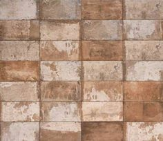 Havana - Porcelain Brick Tile by Mediterranea USA Brick Look Tile, Brick Tile Floor, Brick Flooring, Floors, Brick Face, Vitrified Tiles, Red Tiles, Outdoor Tiles, Stone Veneer