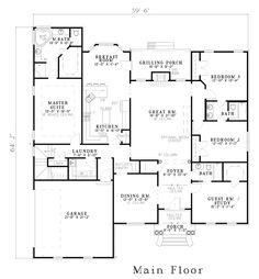 European House Plan 61231