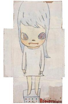 Yoshitomo Nara, Spiral Eyes