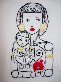 Madonna and child by lil miss maya, via Flickr