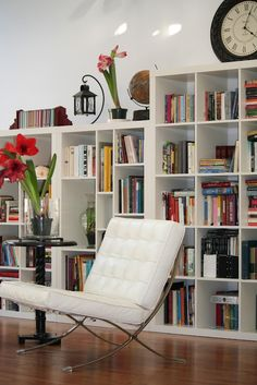 I want this room ~ with more shelves and books. Other side of room full of my art and crafts. :D