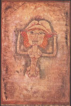 * The singer L as Fioridigli 1923 Paul Klee,