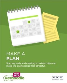 You might also like the revision planner pin! Revision Planner, Exam Revision, Make A Plan, Stress, Psychological Stress