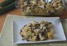 Pasta al forno con zucchine e melanzane