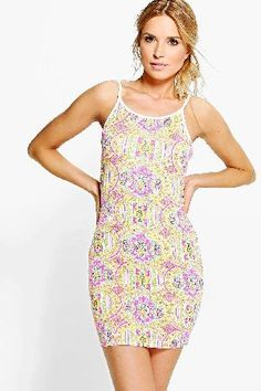 boohoo Printed Strappy Bodycon Dress - multi CZZ97197 Pared back day dresses are the perfect base for layering up this seasonNo off-duty wardrobe is complete without a casual day dress. Basic bodycon dresses are always a winner and casual cami dresses a  http://www.MightGet.com/january-2017-13/boohoo-printed-strappy-bodycon-dress--multi-czz97197.asp