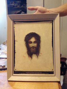 St. Veronica's Handkerchief Framed Print (Jesus) in CoolFinds' Garage Sale in North Richland Hills , TX for $20.