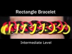 Hoe Maak Je De Rainbow Loom® Rectangle Armband? - Video Rectangle Armbandje Maken - Rainbow-Loom.nl
