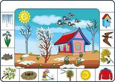 Spring Activities, Activities For Kids, Preschool Math, Kindergarten, Vocabulary Cards, First Grade Math, Speech Therapy, Learn English, Montessori