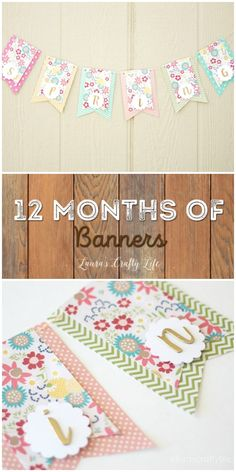 March Spring Banner - 12 Months of Banners at Lauras Crafty Life Cricut Banner, Diy Banner, Bunting Banner, Banner Ideas, Create A Banner, Banner Letters, Paper Banners, Pennant Banners, Easy Diy Crafts