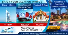 Exclusive Deals on Dubai, Hong Kong & Thailand Packages. Book Now! Best Hotel Deals, Best Hotels, Best Deals, Enjoy Your Vacation, Macau, Hong Kong, Dubai, Thailand, Books