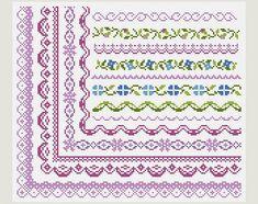 Cross Stitch patterns Cross Stitch border от PatternsTemplates