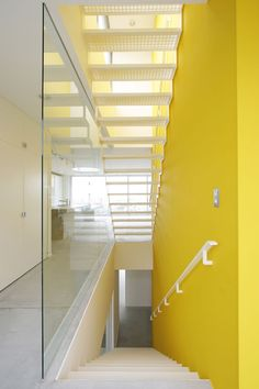 Designed by Architecture W, the Nagoya M House.  Stairs