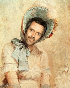 Hugh Laurie (Celebrities edited into classic works of art)