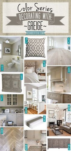 Color Series Decorating With Greige Teal Home