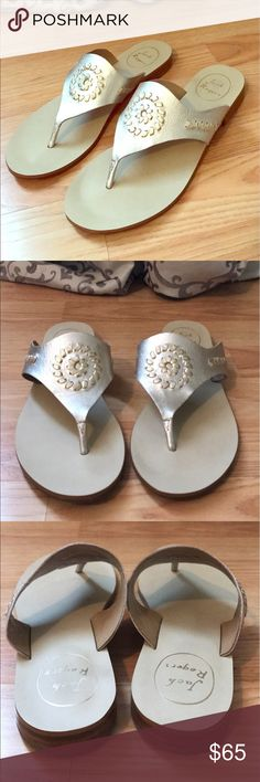 🌴Jack Rogers Sandals🌴 Beautiful Jack Rogers sandals in like new condition only wear is on the bottom soles! Jack Rogers Shoes Sandals