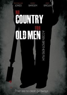 No Country for Old Men (2007) ~ Minimal Movie Poster by Jacob Wise