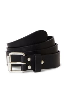 Weekday image 1 of Perfect Leather Belt in Black