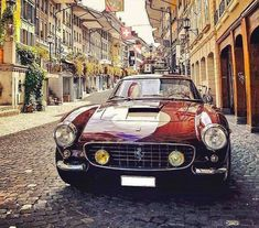 Ferrari Source by Classic Sports Cars, Classic Cars, Mustang, Automobile, Car In The World, Vintage Trucks, Retro Cars, Amazing Cars, Awesome