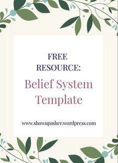 To live your best life, you must first overcome your limiting beliefs and replace them. This FREE template guides you on how to do that