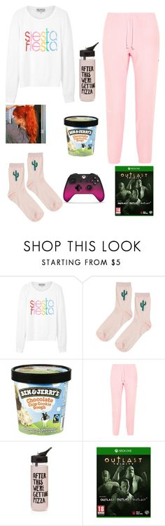 """Playing outlast"" by i-love-food-24 ❤ liked on Polyvore featuring Wildfox, Topshop, Vetements and ban.do"