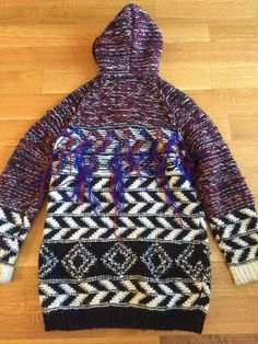 Isabel Marant pour H&M Hooded Cardigan Sweater Jacket US Size Small S